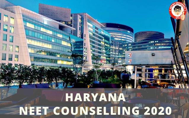 HARYANA NEET COUNSELLING 2020